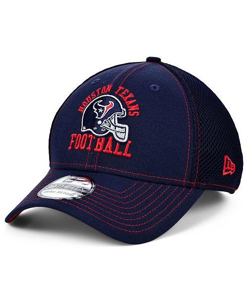 New Era Houston Texans Vintage Helmet Neo 39THIRTY Cap