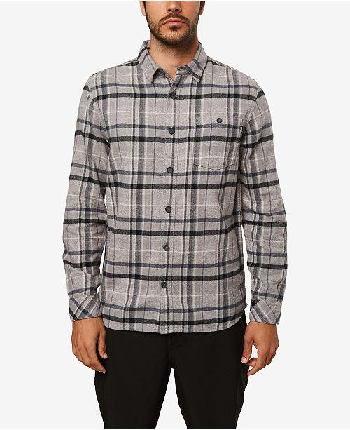 O'Neill Men's Redmond Flannel Long Sleeve Woven