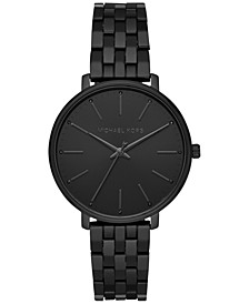 Women's Pyper Black Stainless Steel Bracelet Watch 38mm