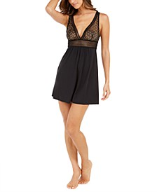 INC Metallic Chemise Nightgown, Created For Macy's