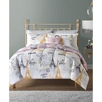 Deals on Sunham Paris 12-Pc. Reversible Comforter Sets