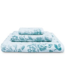 Floral Cotton Bath Towel Collection