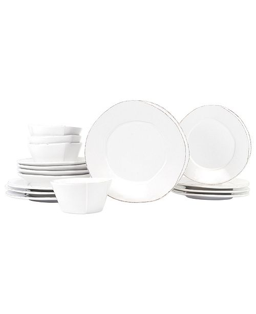 VIETRI Lastra 16-Pc. Dinnerware Set, Service for 4