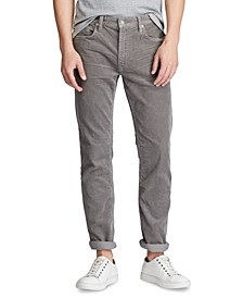 Men's Stretch Corduroy Five-Pocket Pants