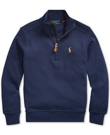 Polo Ralph Lauren Little Boys Interlock Cotton Sweatshirt