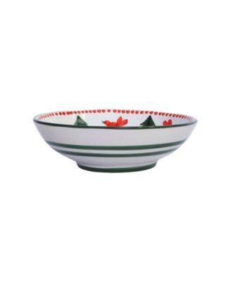 Uccello Rosso Coupe Pasta Bowl