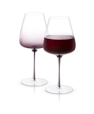 Black Swan Red Wine Glasses Set of 2