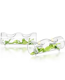 Ambient Double Tea Light Candle Holders Set of 2