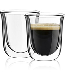Javaah Double Wall Espresso Glasses Set of 2