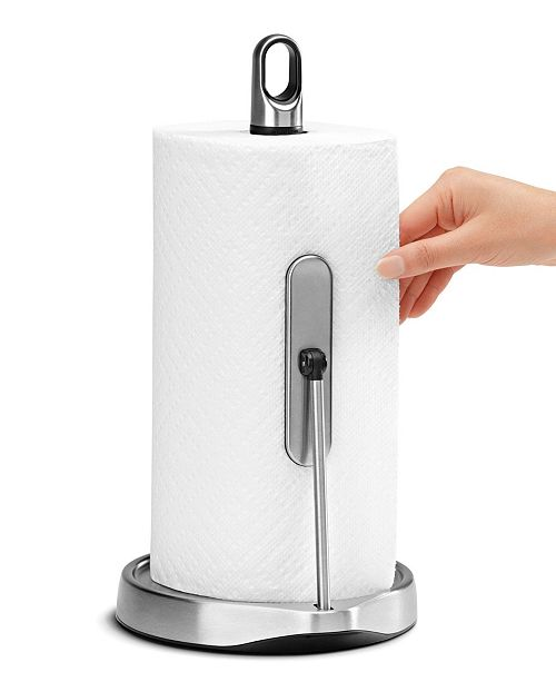 simplehuman Paper Towel Holder, Tension Arm