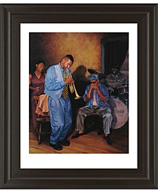 "Jazz Trumpet Framed Print Wall Art, 22"" x 26"""