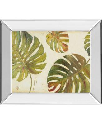 "Organic I by Patricia Pinto Mirror Framed Print Wall Art, 22"" x 26"""