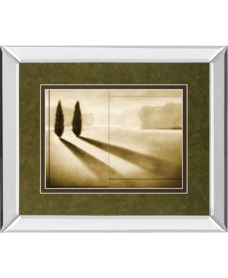 """Cyprus Eclipse I by Brent Collins Mirror Framed Print Wall Art, 34"""" x 40"""""""