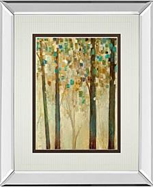 "Reach For The Sun I by Carol Robinson and Mossy Oak Native Living Mirror Framed Print Wall Art, 34"" x 40"""