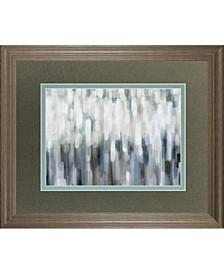 "Silver Rain by Karen Lorena Parker Framed Print Wall Art, 34"" x 40"""
