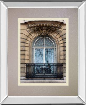 "Rue De Paris I by Tony Koukos Mirror Framed Print Wall Art, 34"" x 40"""