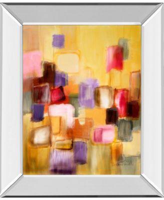 """Sonata II by Lanie Loreth Mirror Framed Print Wall Art, 22"""" x 26"""""""