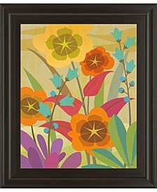 """Flowerbed by Cary Phillips Framed Print Wall Art, 22"""" x 26"""""""