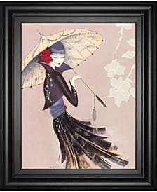 "Lotus Blossom by Marilyn Robertson Framed Print Wall Art, 22"" x 26"""