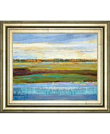 "Flatland Reflection by Mark Chandon Framed Print Wall Art, 22"" x 26"""