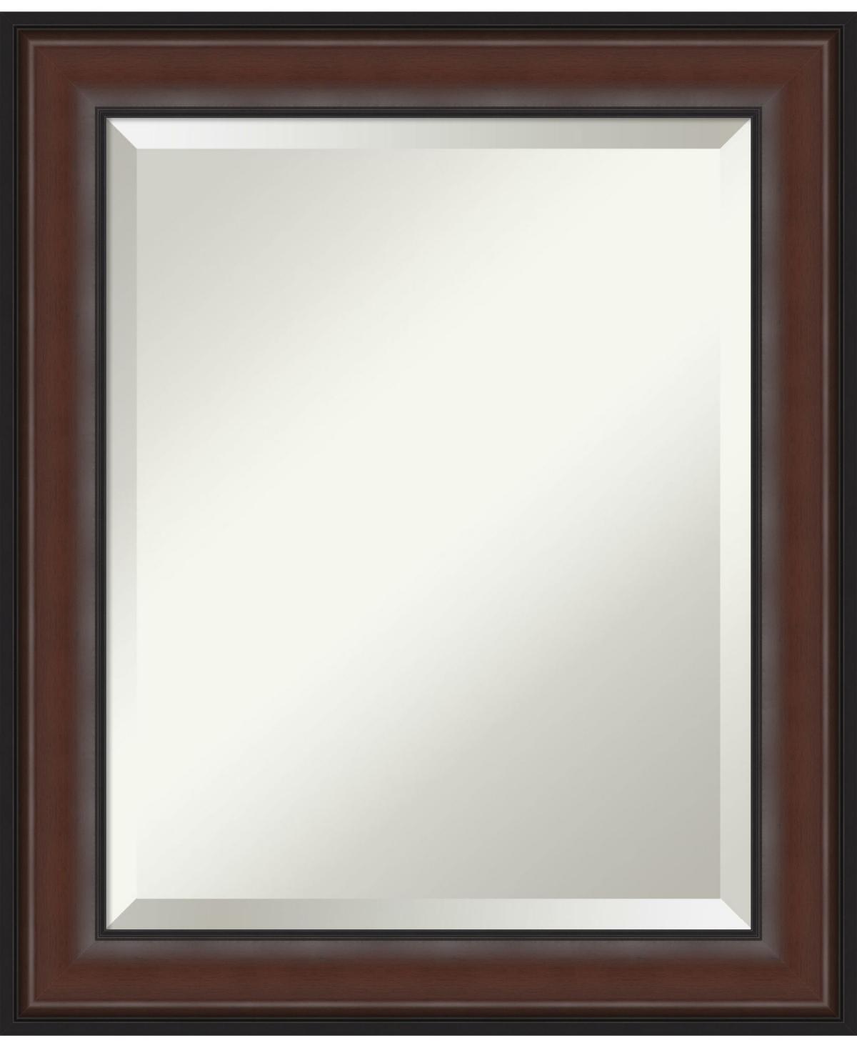 Amanti Art Harvard Framed Bathroom Vanity Wall Mirror, 20.5
