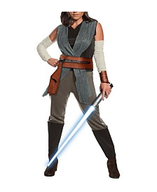 BuySeason Women's Star Wars Episode VIII - The Last Jedi Deluxe Rey Costume