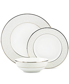 Lenox Dinnerware, Opal Innocence 3-Piece Place Setting