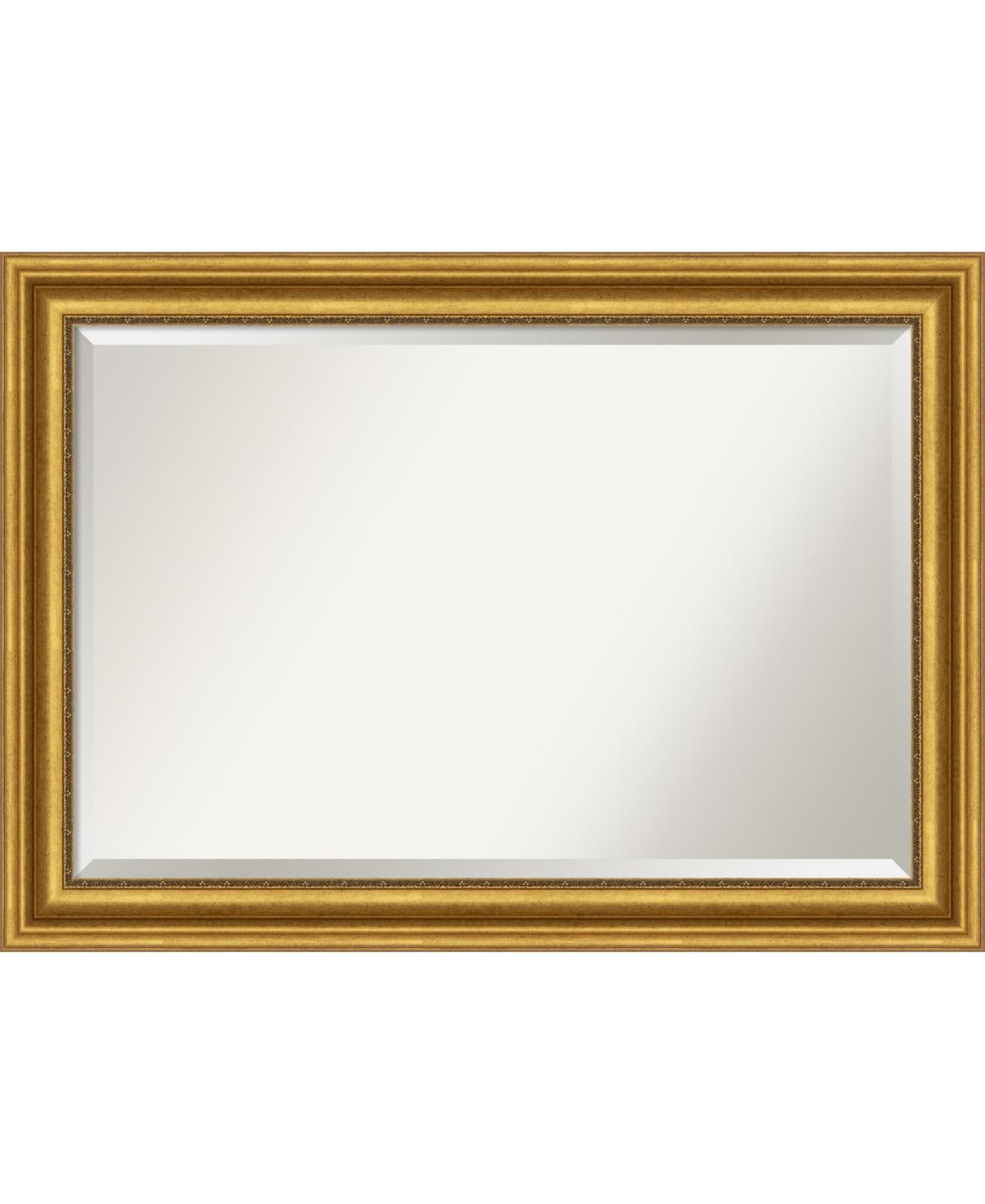 Amanti Art Parlor Gold-tone Framed Bathroom Vanity Wall Mirror, 41.62