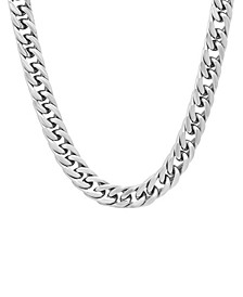 Men's Simple Curb Link Chain Necklace