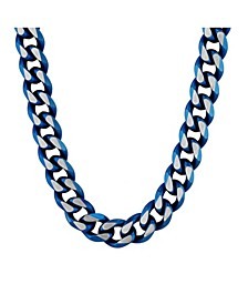 Men's Beveled Curb Link Chain Necklace