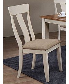Company Panel Back Dining Chairs, Set of 2
