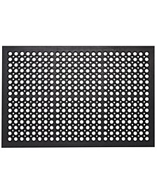 "All Purpose Drainage Anti Fatigue Rubber Floor Mat, 36"" x 60"""