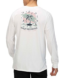 Men's Record Palms Graphic Long Sleeve T-Shirt