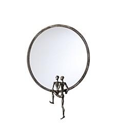 Kobe Accent Mirror - Gray
