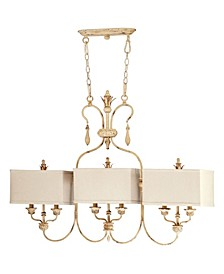 Maison 6-Light Island Chandelier