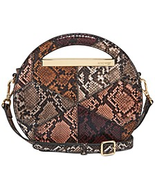 Cut It Out Circle Crossbody