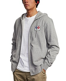 Men's Branded Zip Hooded Sweater