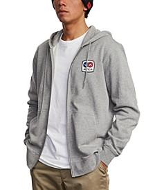 Men's Branded Zip Hooded Sweater