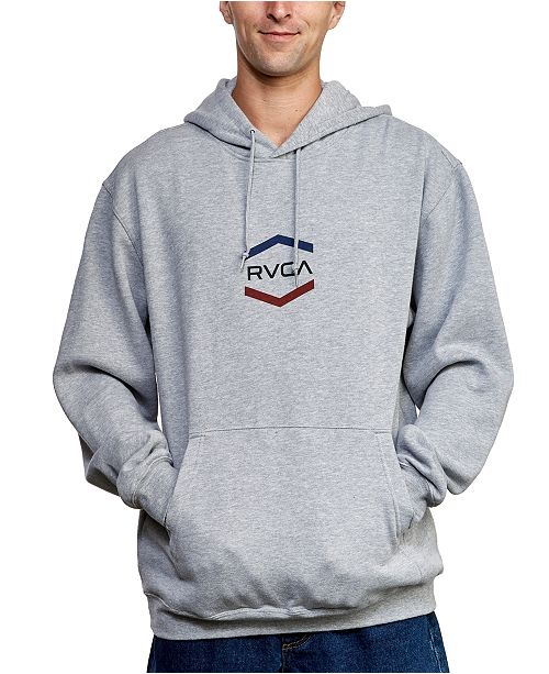 RVCA Men's Airborne Pack Logo Graphic Hoodie