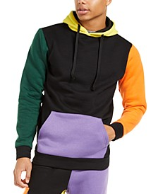 Men's Colorblocked Pullover Hoodie
