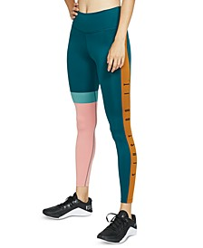 Women's One Dri-FIT Just Do It Colorblocked Leggings