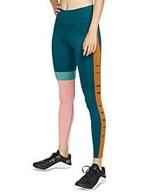 Women's One Dri-FIT Just Do It Colorblocked Leggings
