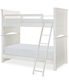 Summerset Twin over Twin Bunk Bed with Trundle/Storage