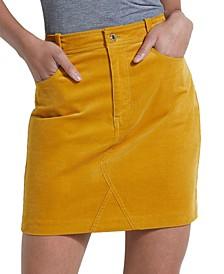 Leiya Corduroy Mini Skirt