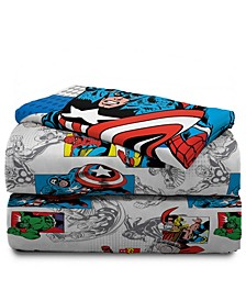 Avengers 4-Piece Full Sheet Set