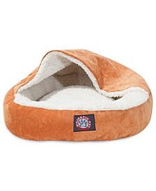 "18"" Villa Micro-Velvet Canopy Dog Bed"