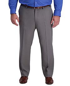 Haggar Men's Big & Tall Active Series Classic-Fit Performance Stretch Dress Pants
