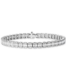 EFFY® HEMATIAN Diamond Tennis Bracelet (3-5/8 ct. t.w.) in 18k White Gold