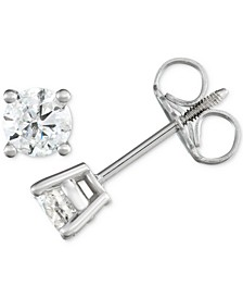 Diamond Stud Earrings (1/2 ct. t.w.)