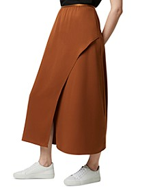 Alessia Draped Maxi Skirt